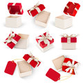 Gift box set vector Royalty Free Stock Photo