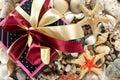 Gift box and shells