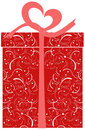 Gift Box - vector illustration Stock Photos