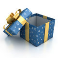 Gift boxes over white background Royalty Free Stock Photography