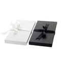 Gift card boxes isolated on white background Stock Photo