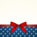 Gift Card with Red Satin Gift Bow
