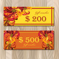 Gift Certificate Card Template...