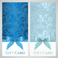 Gift certificate, gift card, Coupon template Royalty Free Stock Photo