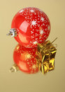 Gift and christmas decoration Stock Image