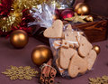 Gift cookies Royalty Free Stock Image