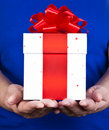 Gift giving Royalty Free Stock Photography