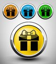 Gift icon Stock Photo