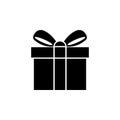 Gift Icon Isolated on White Background