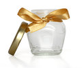 Gift jar Stock Image