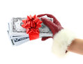 Gift of money Stock Image