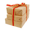 Gift paper box Royalty Free Stock Photo