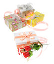Gift  Parcels Royalty Free Stock Images
