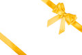 Gift ribbon with bow Royalty Free Stock Photo