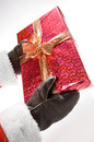 A gift from santa claus Royalty Free Stock Photo