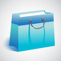 Gift shopping bag Stock Photography