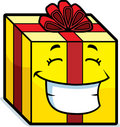 Gift Smiling Royalty Free Stock Photos