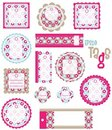 Gift tags Royalty Free Stock Photo