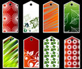 Gift tags or bookmarks Royalty Free Stock Photo