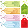 Gift tags, vector Royalty Free Stock Photo
