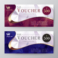Gift voucher template. promotion card, Coupon design.