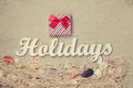 Gift And Word Holidays With Ne...