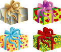 Giftboxes Royalty Free Stock Photo