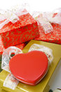 Gifts boxes Royalty Free Stock Photo