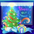 Gifts In Colorful Boxes As A S...