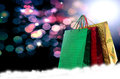 Gifts surprise in new year holiday Stock Image