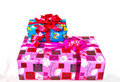 Gifts the valuable presents in any occasions Royalty Free Stock Images