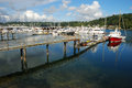 Gig harbor seattle washington an image of usa a historic town Royalty Free Stock Images