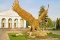 Gigantic eagle Stock Photo