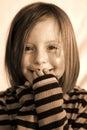 Giggle & Smile Royalty Free Stock Photo