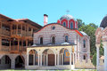 """Giginski monastery tsarnogorski monastery is situated in bulgaria the """"st st kozma and damyan"""" was the center of the Royalty Free Stock Photography"""