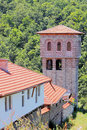 "Giginski monastery tsarnogorski monastery is situated in bulgaria the ""st st kozma and damyan"" was the center of the Stock Photo"