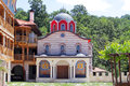 "Giginski monastery tsarnogorski monastery is situated in bulgaria the ""st st kozma and damyan"" was the center of the Stock Images"