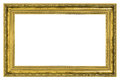 Gilded frame with thick border Royalty Free Stock Photo