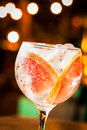 Gin tonic cold ready to drink Royalty Free Stock Photography