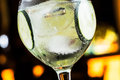 Gin tonic great in a night pub Royalty Free Stock Image