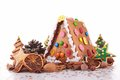 Ginger bread house Royalty Free Stock Photo