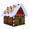 Ginger Bread House Illustration
