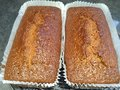 Ginger cake baking for the family Royalty Free Stock Images