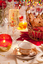 Ginger cookies on a festive table Royalty Free Stock Photos