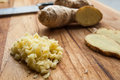 Ginger fresh ready for a new recipe Royalty Free Stock Photography