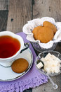 Ginger nuts, ginger biscuits, Royalty Free Stock Image