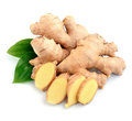 Ginger root . Royalty Free Stock Photo