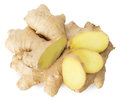Ginger Slices Isolated On A Wh...