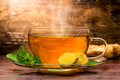 Ginger Tea Royalty Free Stock Photo