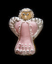Gingerbread angel Royalty Free Stock Photo